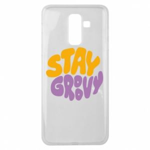 Etui na Samsung J8 2018 Stay groovy