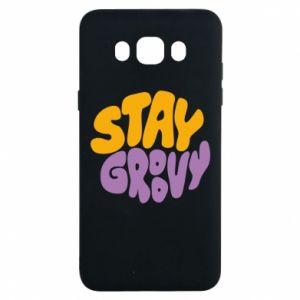 Etui na Samsung J7 2016 Stay groovy