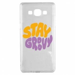 Etui na Samsung A5 2015 Stay groovy