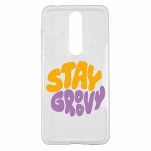 Etui na Nokia 5.1 Plus Stay groovy