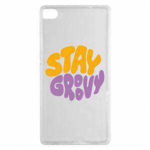 Etui na Huawei P8 Stay groovy