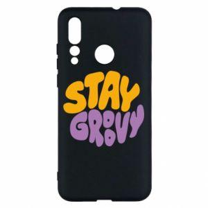Etui na Huawei Nova 4 Stay groovy