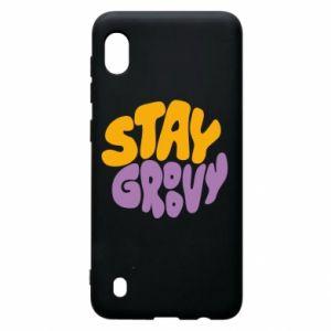 Etui na Samsung A10 Stay groovy