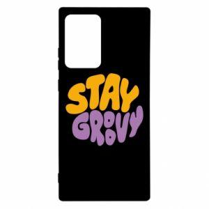 Etui na Samsung Note 20 Ultra Stay groovy