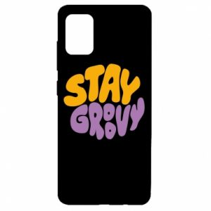 Etui na Samsung A51 Stay groovy
