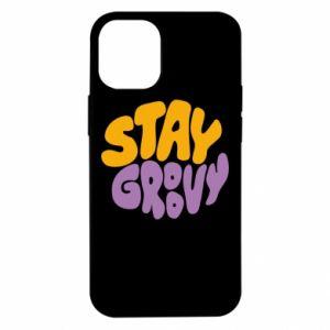 Etui na iPhone 12 Mini Stay groovy