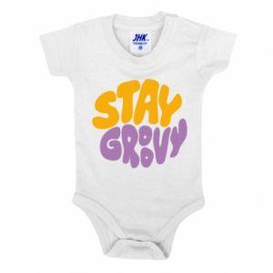 Body dziecięce Stay groovy