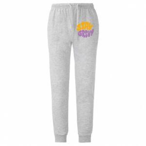 Spodnie lekkie męskie Stay groovy