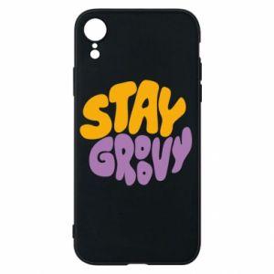 Etui na iPhone XR Stay groovy