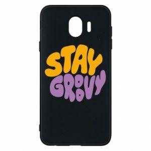 Etui na Samsung J4 Stay groovy