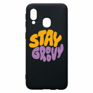 Etui na Samsung A40 Stay groovy