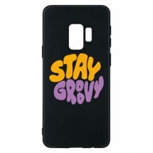 Etui na Samsung S9 Stay groovy