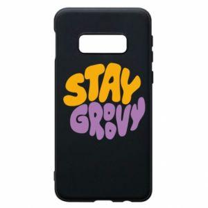 Etui na Samsung S10e Stay groovy