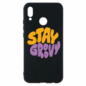 Etui na Huawei P20 Lite Stay groovy