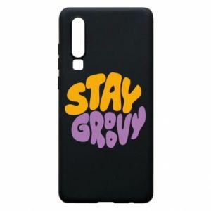 Etui na Huawei P30 Stay groovy