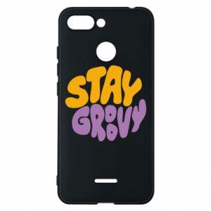 Etui na Xiaomi Redmi 6 Stay groovy
