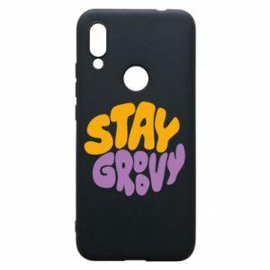 Etui na Xiaomi Redmi 7 Stay groovy