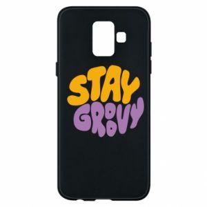 Etui na Samsung A6 2018 Stay groovy