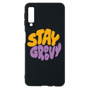 Etui na Samsung A7 2018 Stay groovy