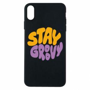 Etui na iPhone Xs Max Stay groovy