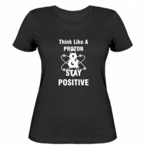 Women's t-shirt Stay positive