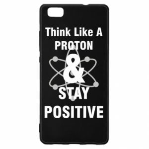 Huawei P8 Lite Case Stay positive