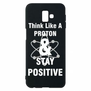 Etui na Samsung J6 Plus 2018 Stay positive