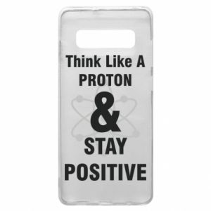 Phone case for Samsung S10+ Stay positive
