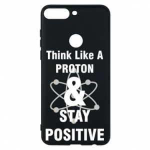 Phone case for Huawei Y7 Prime 2018 Stay positive