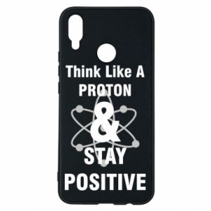 Etui na Huawei P Smart Plus Stay positive