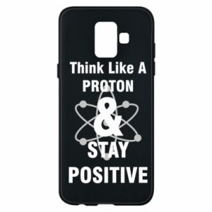 Phone case for Samsung A6 2018 Stay positive