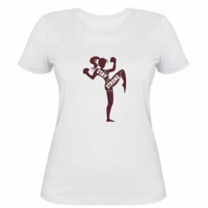 Damska koszulka Stay strong - PrintSalon