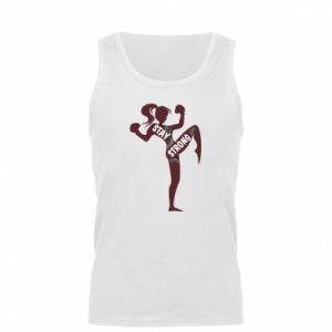 Męska koszulka Stay strong - PrintSalon
