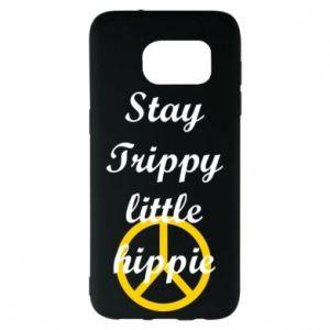 Etui na Samsung S7 EDGE Stay trippy little hippie