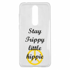 Etui na Nokia 5.1 Plus Stay trippy little hippie