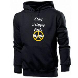 Bluza z kapturem męska Stay trippy little hippie