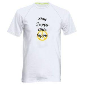 Koszulka sportowa męska Stay trippy little hippie