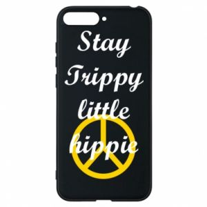Etui na Huawei Y6 2018 Stay trippy little hippie