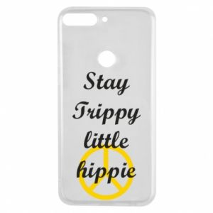 Etui na Huawei Y7 Prime 2018 Stay trippy little hippie