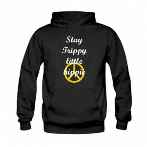 Bluza z kapturem dziecięca Stay trippy little hippie