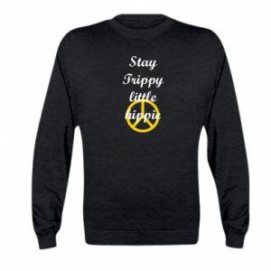 Bluza dziecięca Stay trippy little hippie