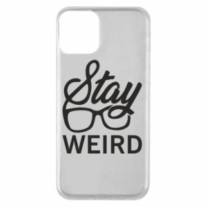 Etui na iPhone 11 Stay weird