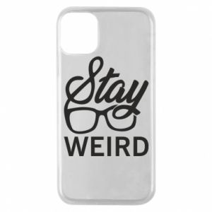 Etui na iPhone 11 Pro Stay weird