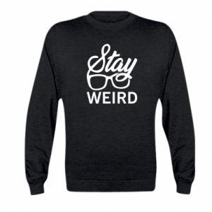 Bluza dziecięca Stay weird