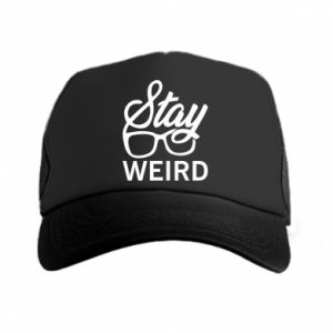 Czapka trucker Stay weird