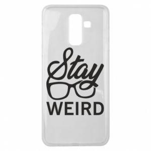 Etui na Samsung J8 2018 Stay weird