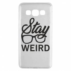 Etui na Samsung A3 2015 Stay weird