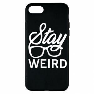 Etui na iPhone SE 2020 Stay weird