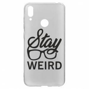 Etui na Huawei Y7 2019 Stay weird