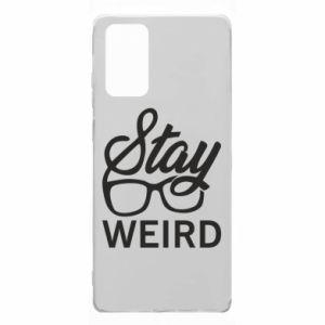 Etui na Samsung Note 20 Stay weird